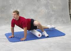Man Using Foam Roller WeightWise