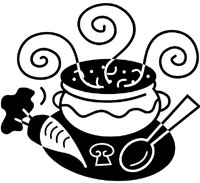 Crock Soup Clip Art